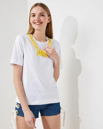 Белая футболка Love Moschino