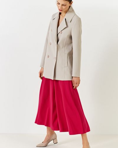 Утепленная куртка на пуговицах с карманами Simple