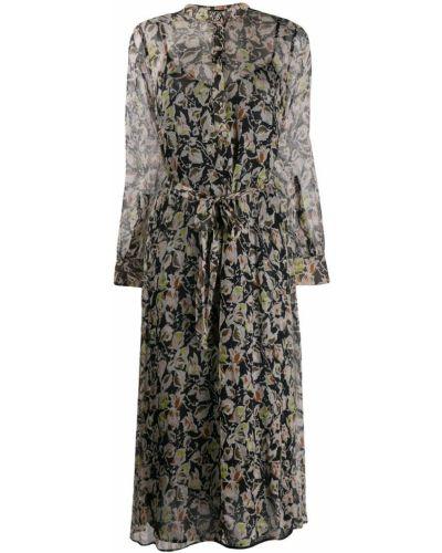 Платье макси длинное - бежевое Luisa Cerano