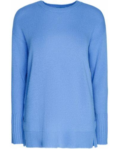 Голубой свитер оверсайз Prada