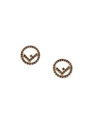 Kolczyki ze sztyftem kolczyki pierścionki kolczyki z mankietami Fendi