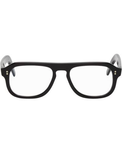 Кожаные черные очки авиаторы Cutler & Gross