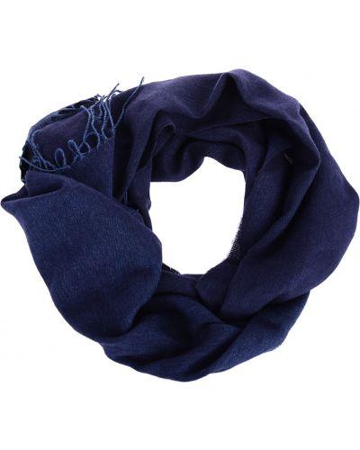 Синий шарф Armani Jeans
