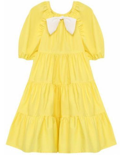 Платье с рукавами летнее хлопковое Il Gufo