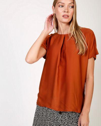 Блузка из вискозы - оранжевая Taifun