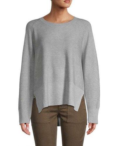 Акриловый длинный свитер с длинными рукавами Grace