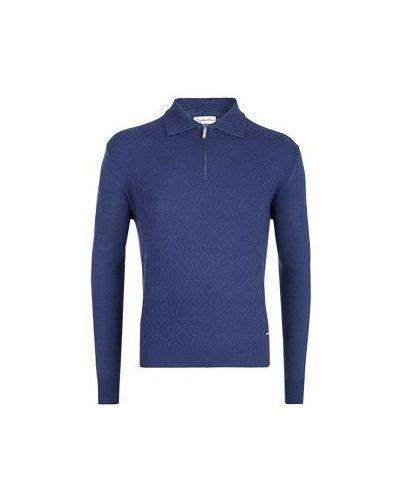 Синяя рубашка Castello D'oro