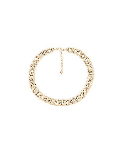 Ожерелье золотое металлическое Baublebar