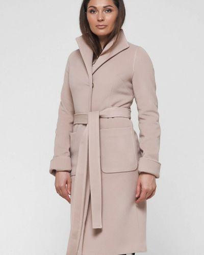 Бежевое пальто весеннее Florens