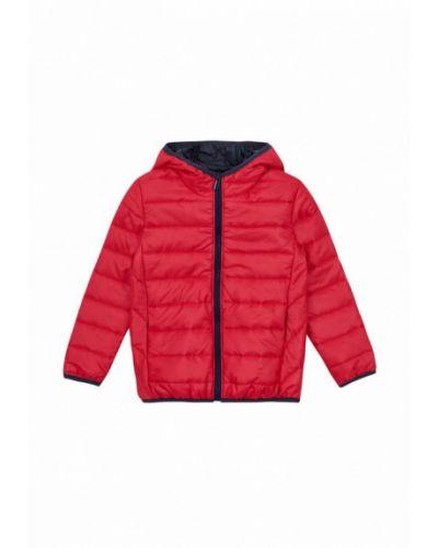 Красная теплая куртка Garnamama