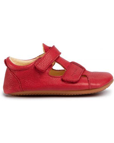 Туфли на липучках - красные Froddo