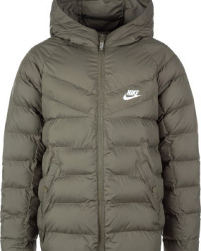 Куртка зеленый теплая Nike