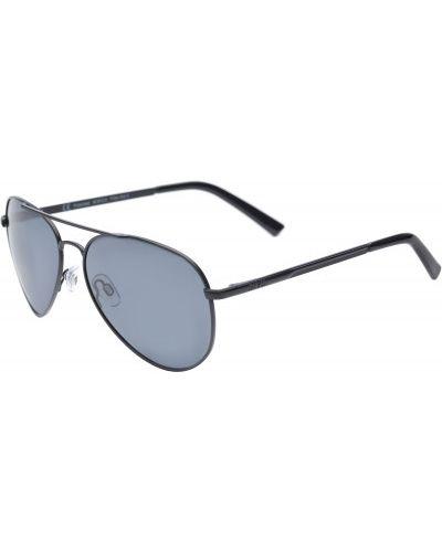 Солнцезащитные очки черные серые Invu