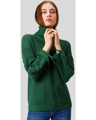 Зеленый свитер осенний Finn Flare
