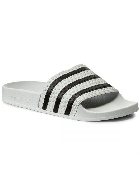 Klapki biały Adidas