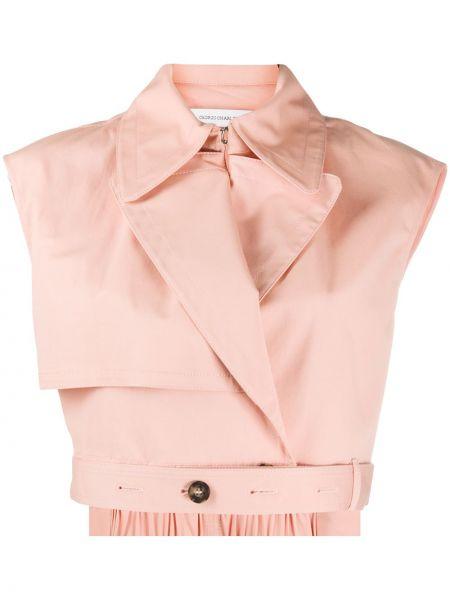Розовая куртка Cédric Charlier