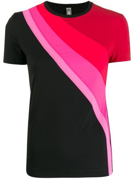 Черная спортивная футболка с круглым вырезом с короткими рукавами круглая No Ka 'oi