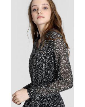 Платье мини с поясом платье-рубашка Ostin
