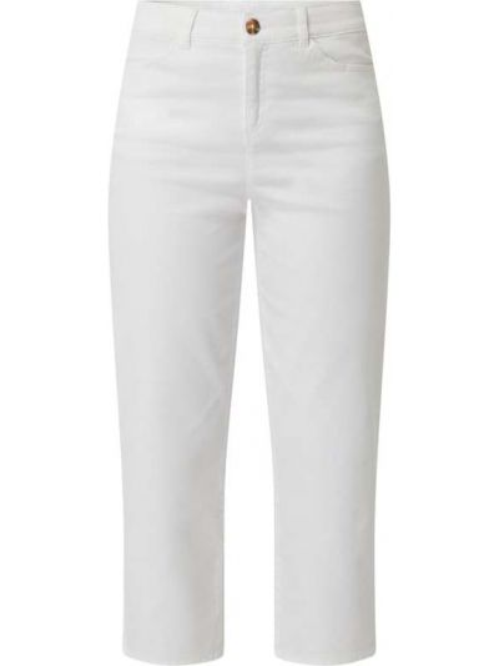 Białe spodnie bawełniane Christian Berg Women