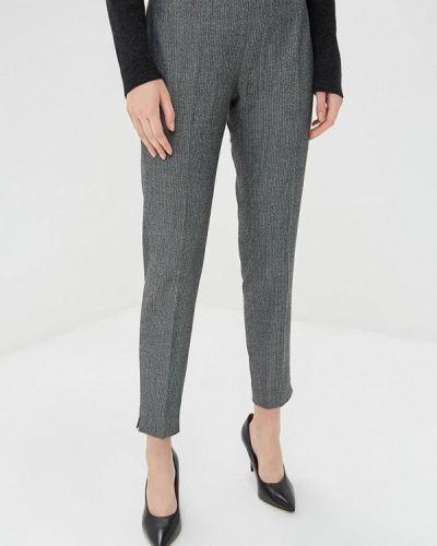 Серые классические брюки Naf Naf