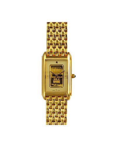 Часы швейцарские золотой Charmex
