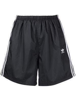 Шорты с вышивкой - белые Adidas