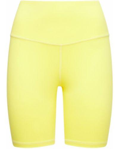 Желтые спортивные шорты Michi