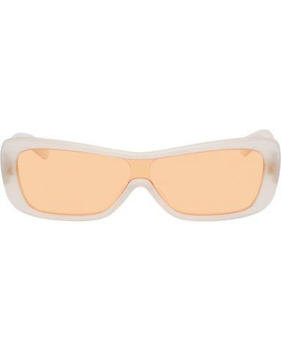 Białe włoskie okulary Flatlist Eyewear