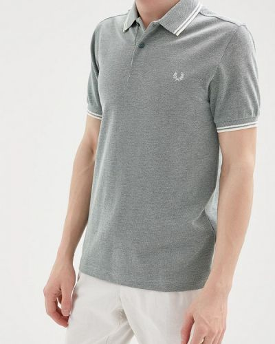 Зеленое поло Fred Perry