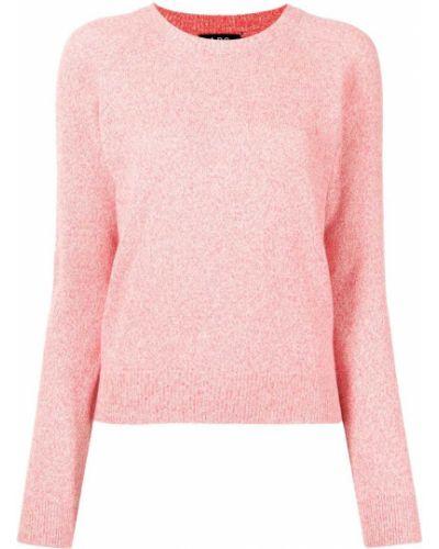 Розовые шерстяные брюки A.p.c.