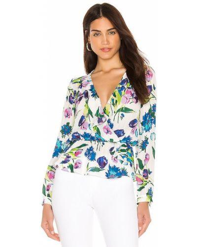 Шелковая блузка - белая Parker