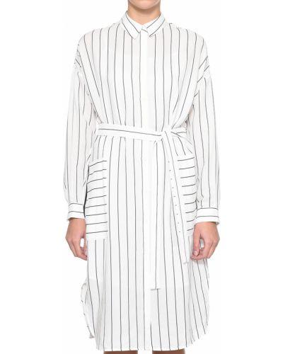 Платье из полиэстера - белое Peserico