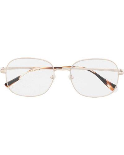 Złote okulary Gigi Studios