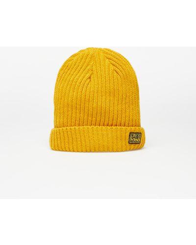 Żółta czapka beanie Life Is Porno