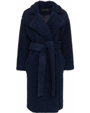 Синее пальто с капюшоном Michael Lo Sordo