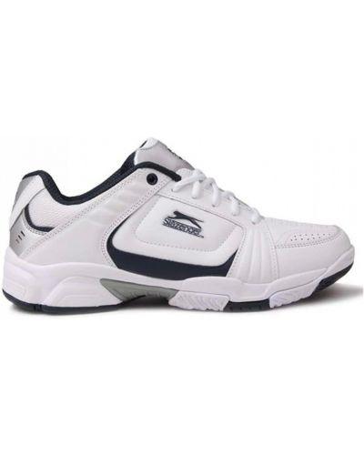 Текстильные кроссовки - белые Slazenger