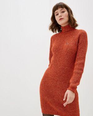 Платье вязаное осеннее Lacoste