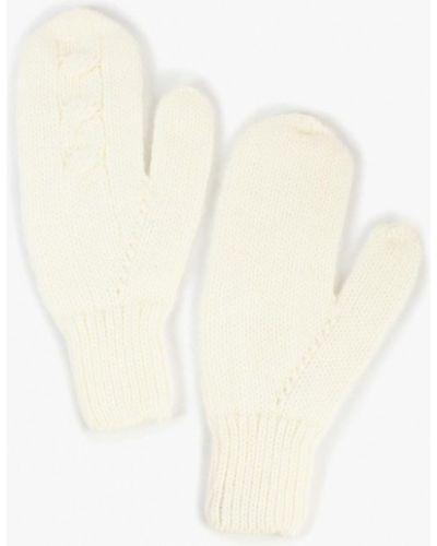 Белые варежки Baon
