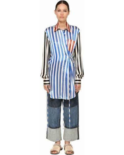 Рубашка с завязками Loewe