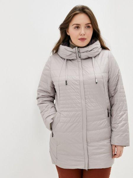 Теплая серая утепленная куртка Montserrat