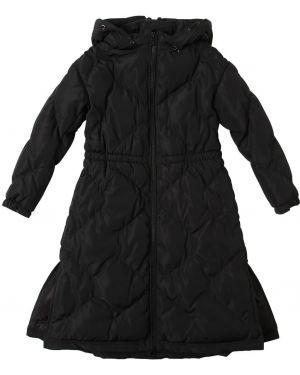 Płaszcz z mankietami z kapturem Emporio Armani