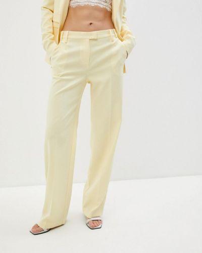 Классические брюки - желтые Patrizia Pepe