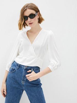 Белая блузка с длинными рукавами Adl