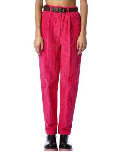 Spodnie - różowe Tensione In