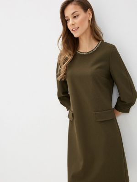 Зеленое платье Lusio