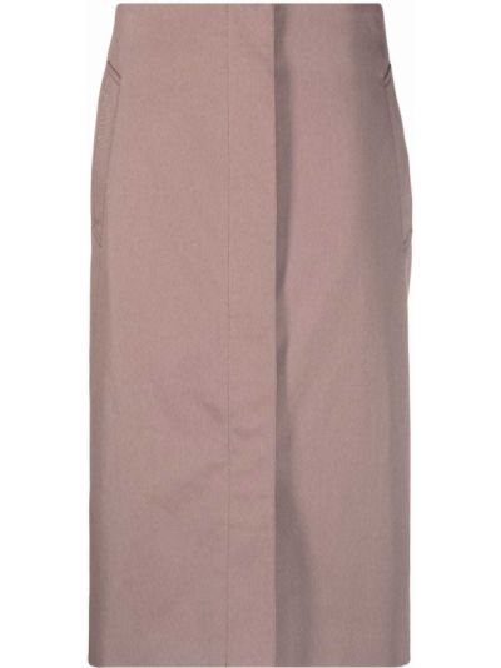 Spódnica bawełniana - różowa Lemaire