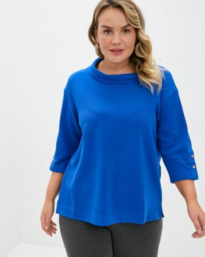 Синяя блузка с длинным рукавом с длинными рукавами Intikoma