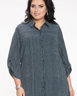 Блузка с кокеткой прима линия