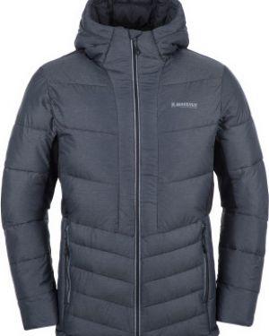 Куртка с капюшоном утепленная черная Madshus