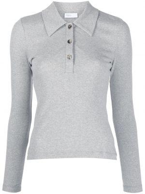 Рубашка с длинным рукавом - серая Rosetta Getty